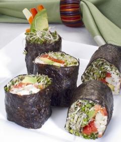 Raw Food: California Roll
