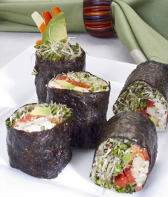 Raw Food: California Roll