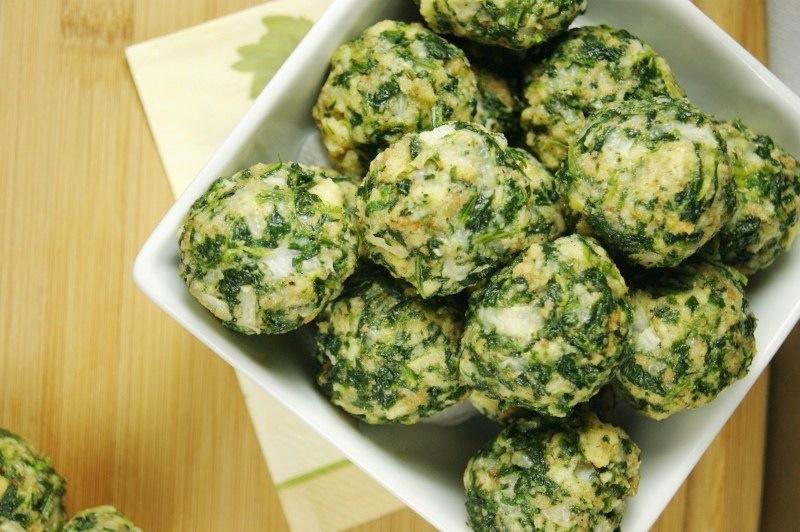 Spinach Balls | Glenda the Good Foodie